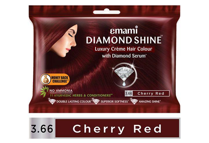 Diamond Shine 3.66 Cherry Red