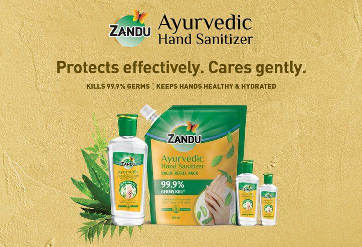 Zandu Ayurvedic Hand Sanitizer