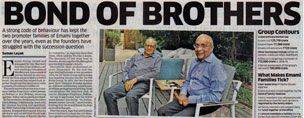 Bond of Brothers - The Economic Times
